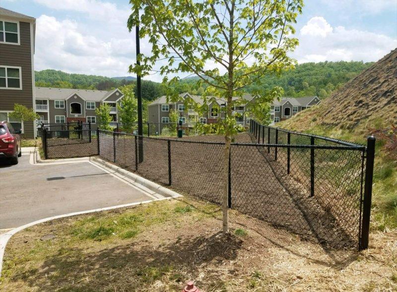 commercial dog park fencing
